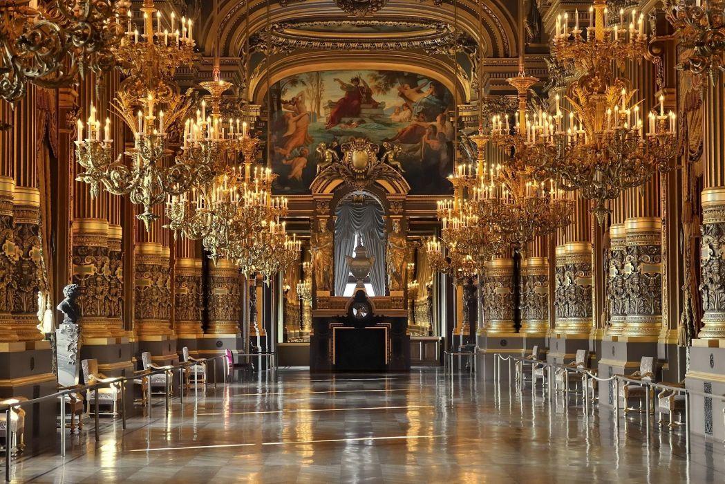 Opera de Paris building wallpaper