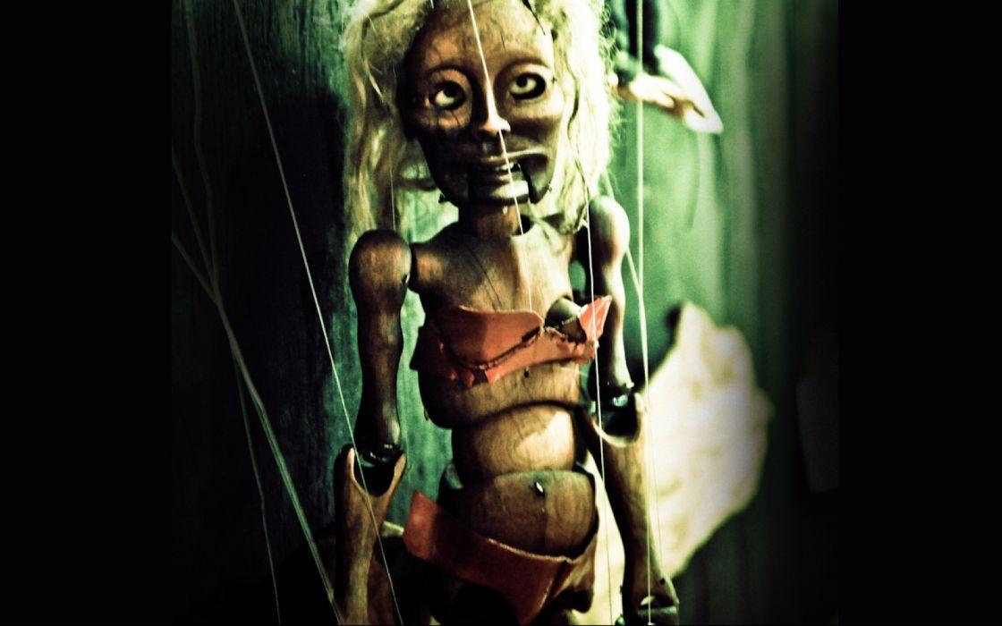 dark horror macabre gothic puppet art wallpaper