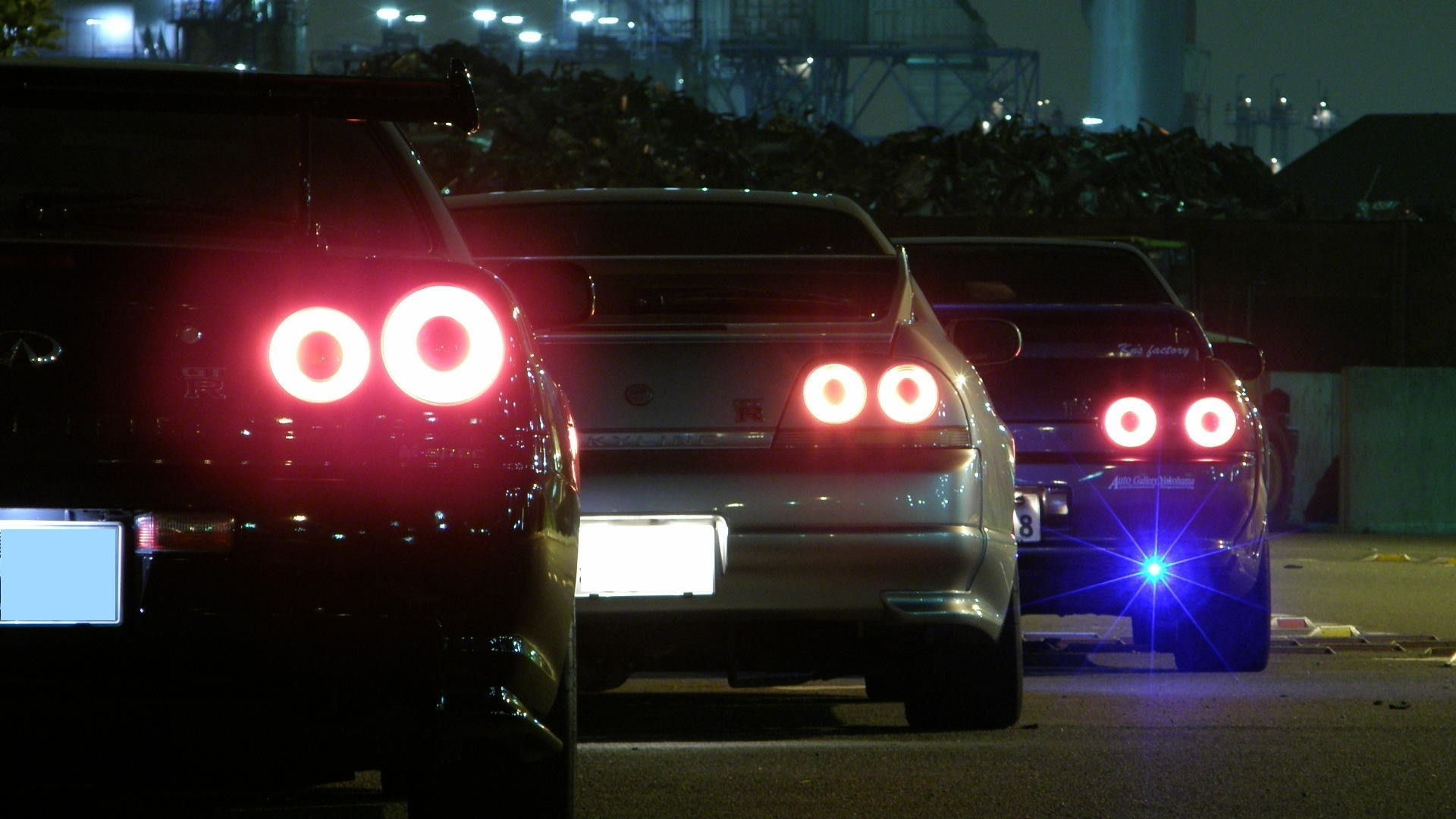 Cars Backview Vehicles Nissan Skyline R32 Gtr Jdm Nissan