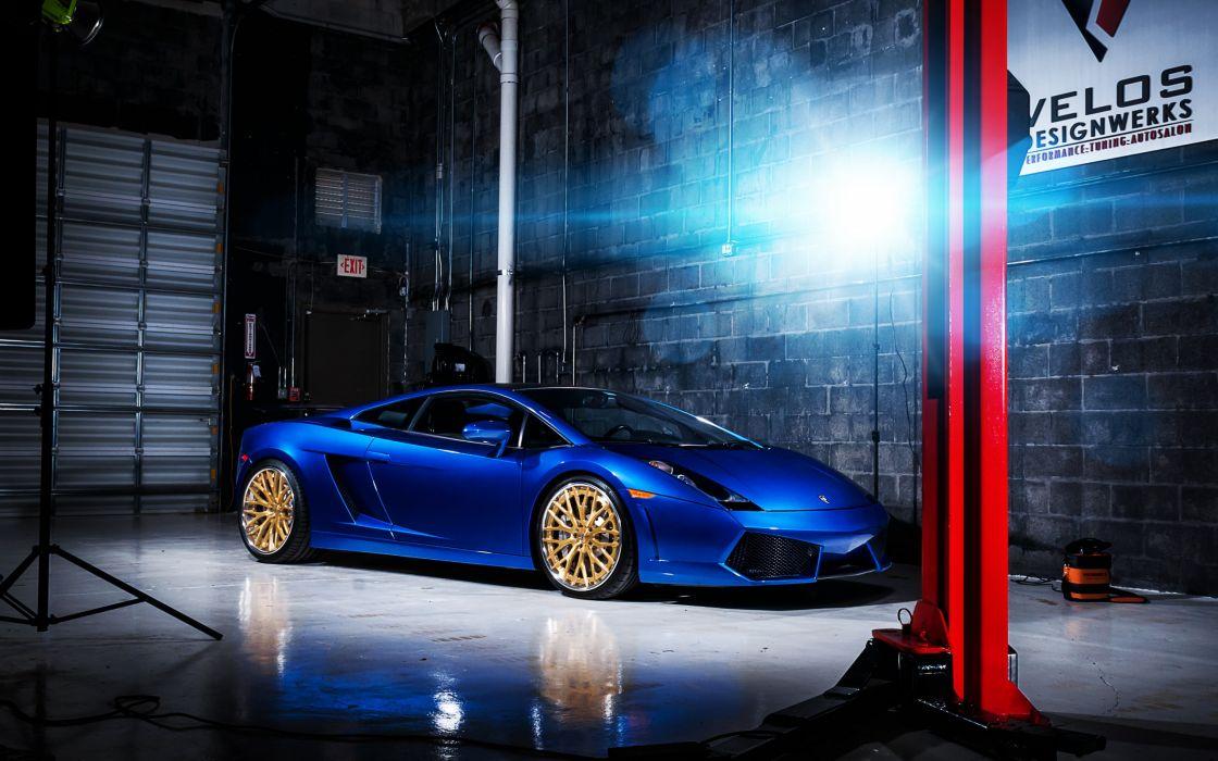 Lamborghini Gallardo supercar wallpaper