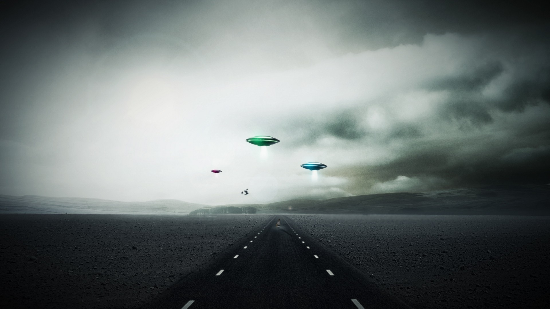 Ufo Alien Wallpaper