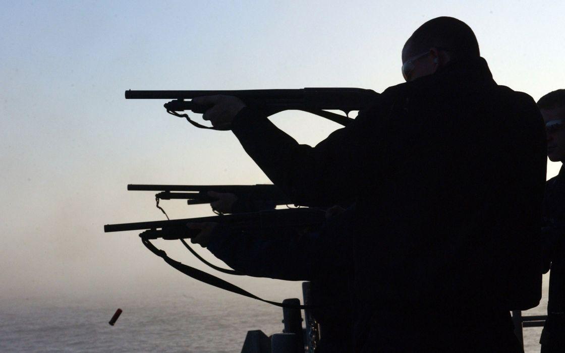 military police swat weapons guns shotgun wallpaper