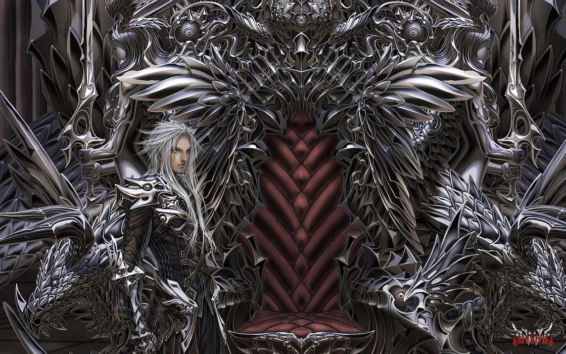 art fantasy men boy detail gothic dark wallpaper