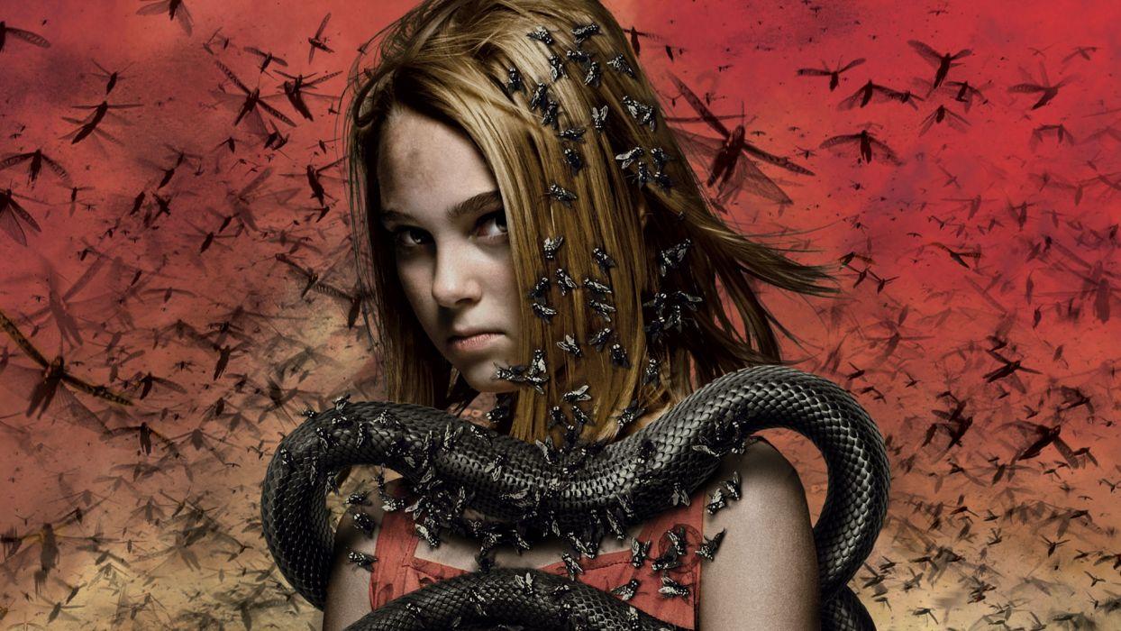 The Reaping Bugs Snake AnnaSophia Robb actress girl dark horror religion wallpaper