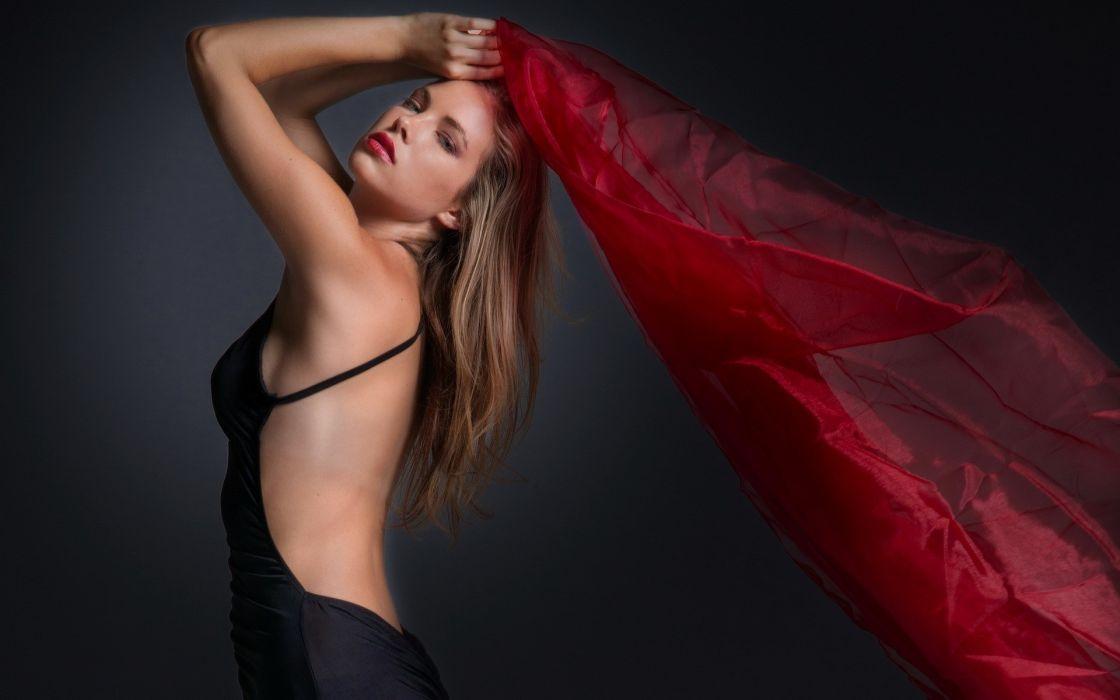 (LiteDway) women model fashion brunettes sexy babes wallpaper