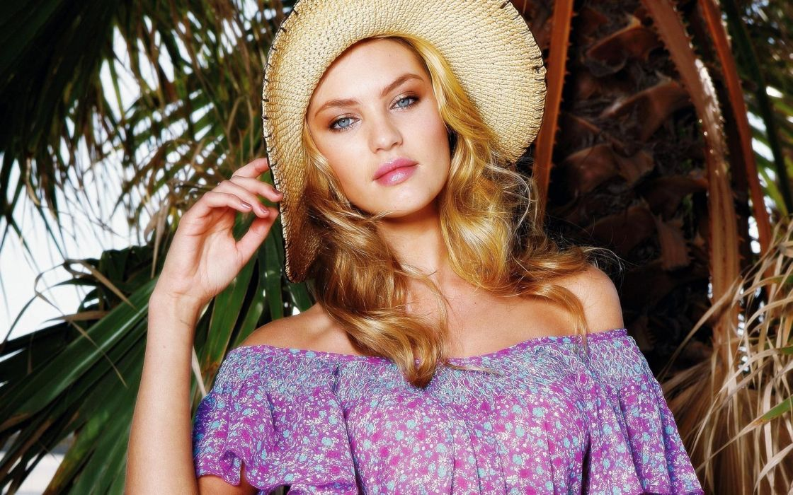 Candice Swanepoel women model fashion blondes sexy babes face wallpaper