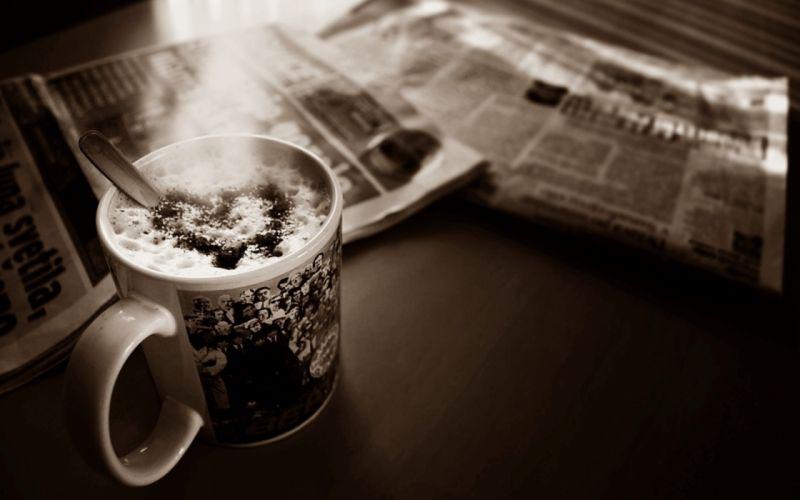 heart Mug humor newspaper coffee mood coffee wallpaper