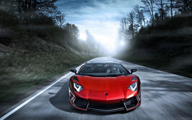 Mansory Lamborghini Aventador LP700-4 LB834 roads supercars wallpaper