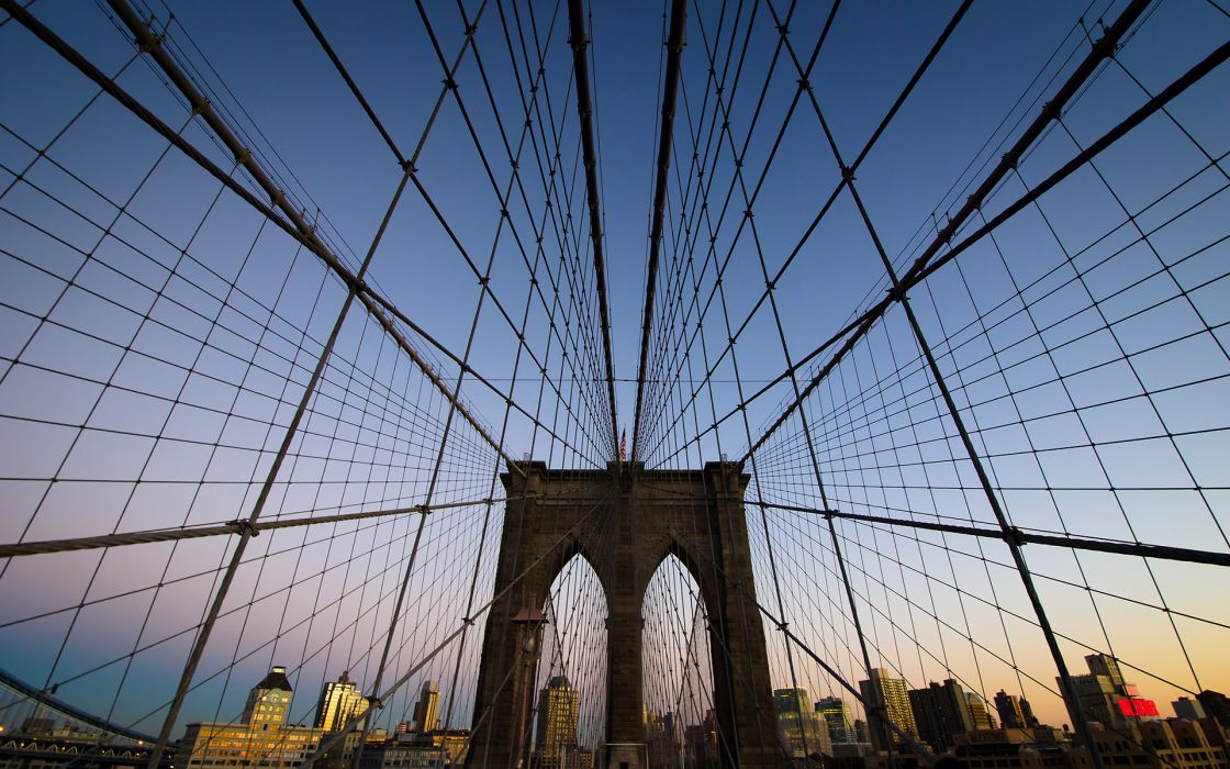 Brooklyn Bridge cities wallpaper