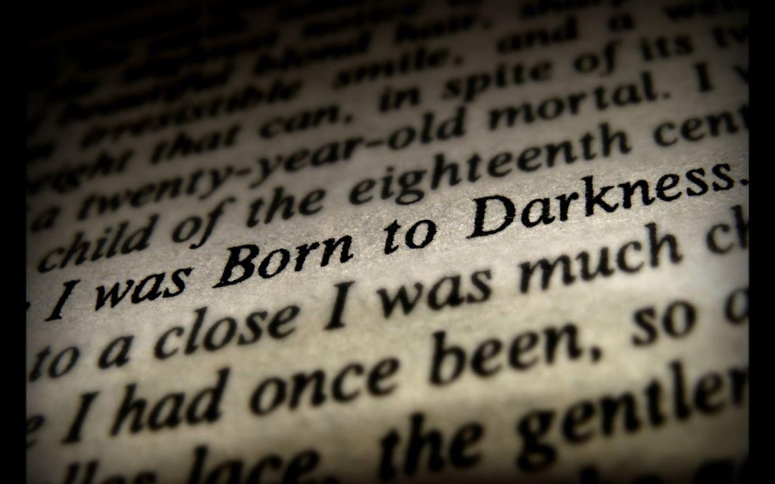 dark horror story books statement evil satan occult wallpaper