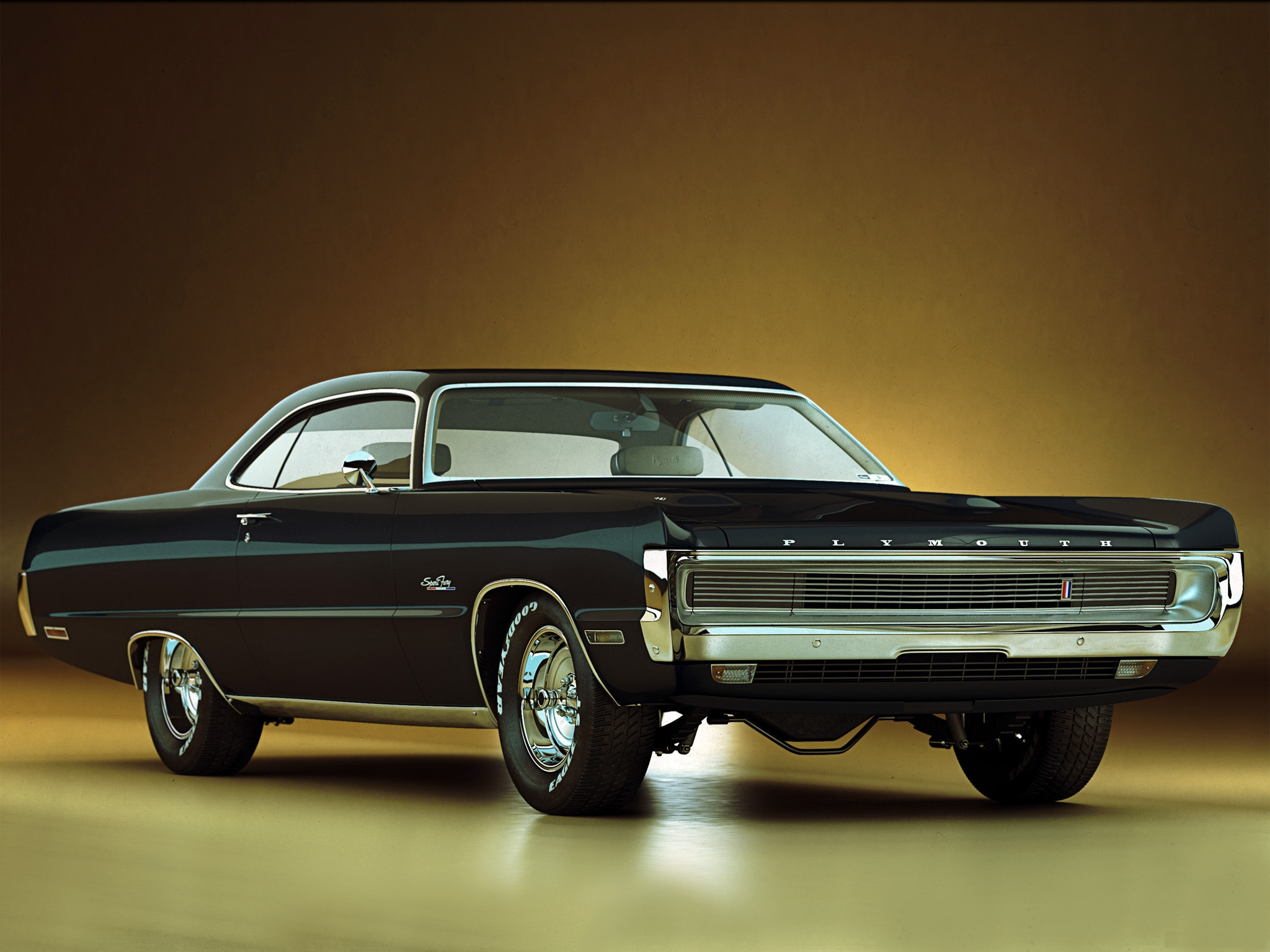 Plymouth Fury Mopar Classic Muscle Cars Wallpaper