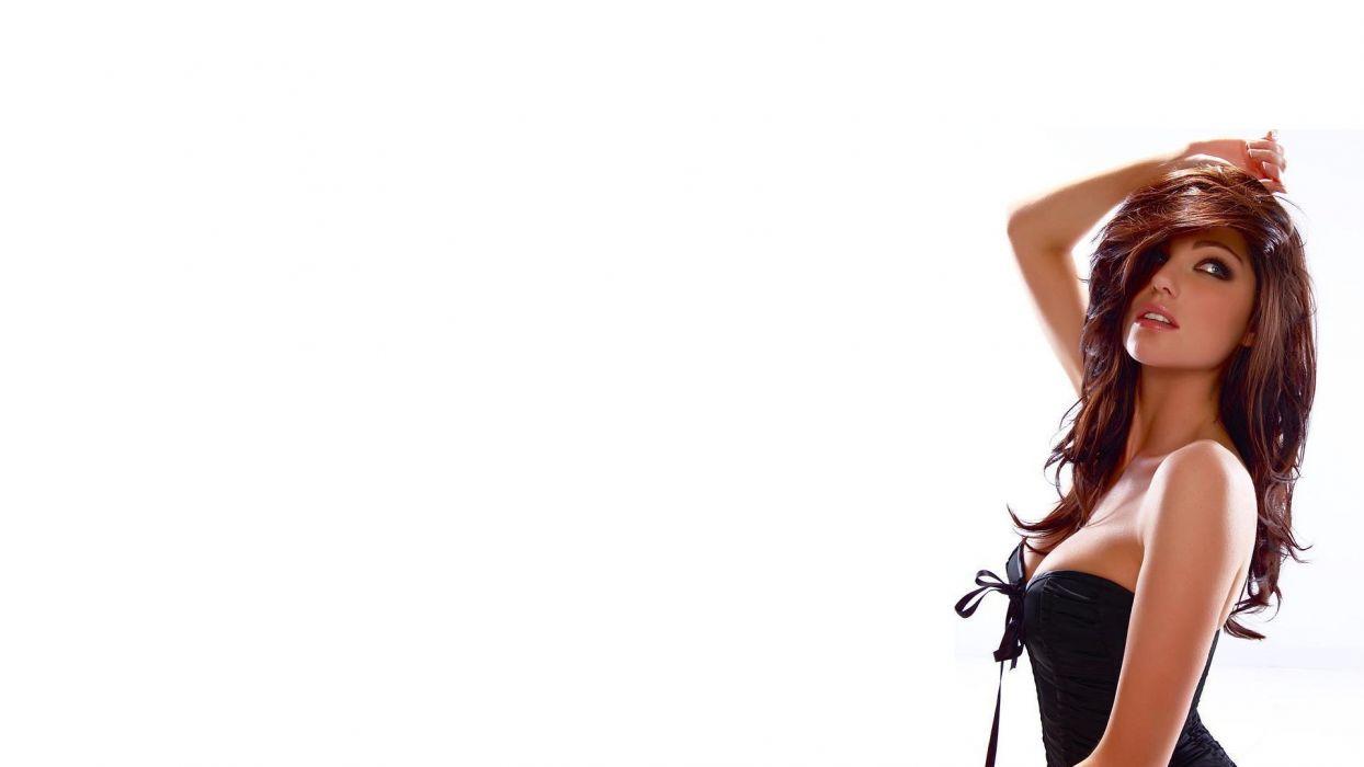 Louise Cliffe music singer actress british women model brunettes sexy babes wallpaper