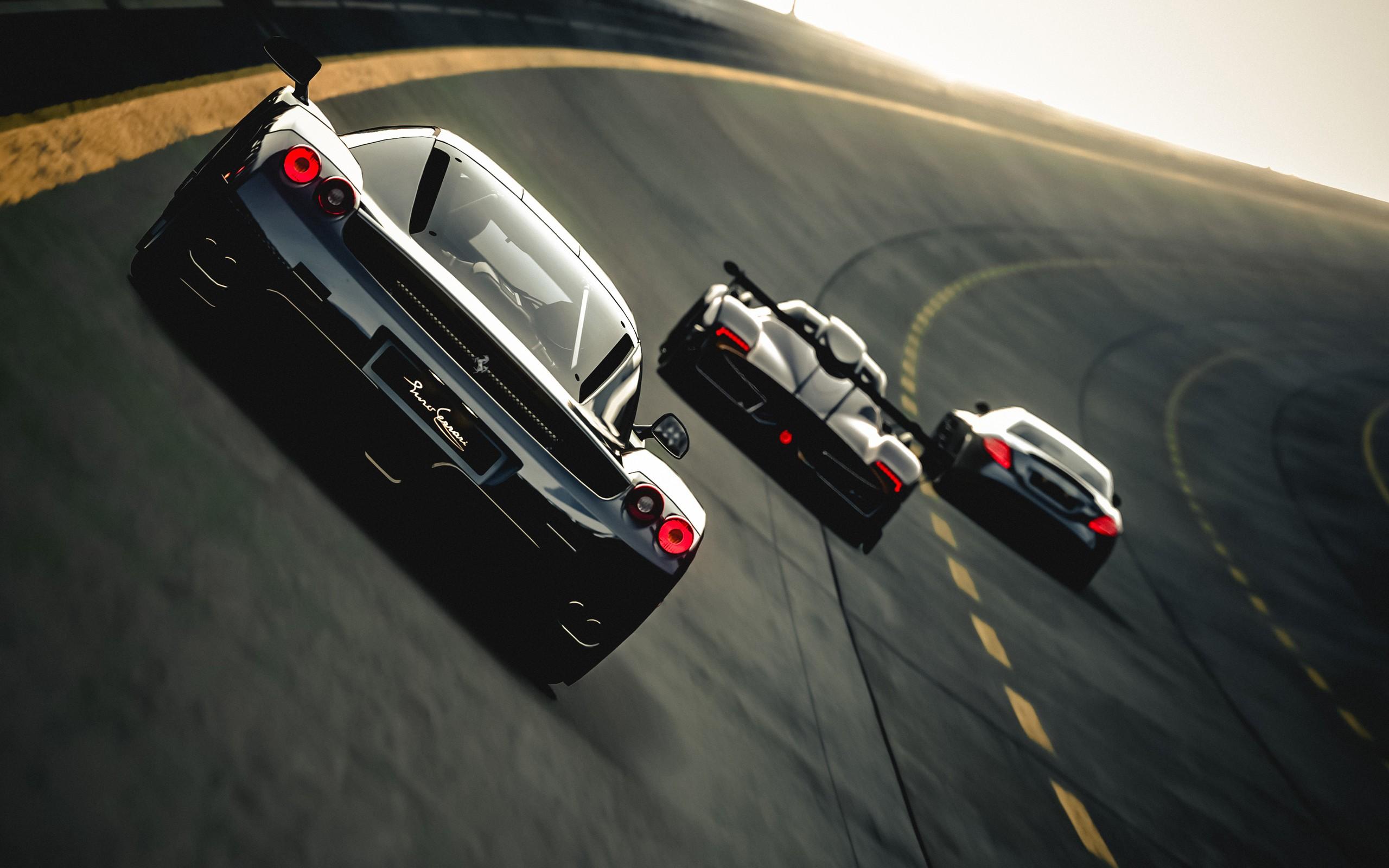 Ferrari Enzo Pagani Zonda R Zonda Mclaren Slr Mercedes Cg