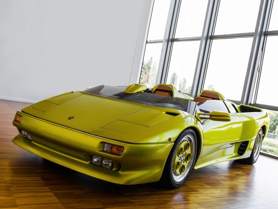 Lamborghini 1992 Diablo Roadster supercars wallpaper