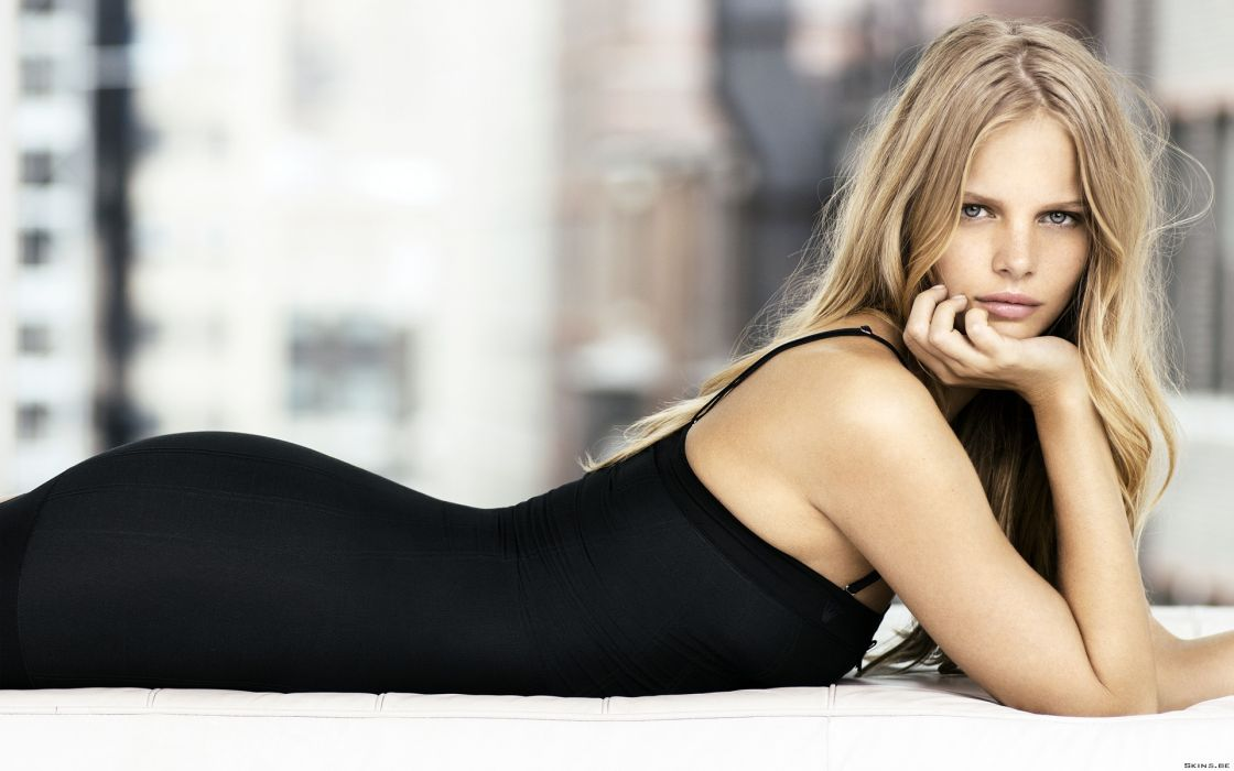 Marloes Horst wmen fashion model supermodel blondes sexy babes wallpaper