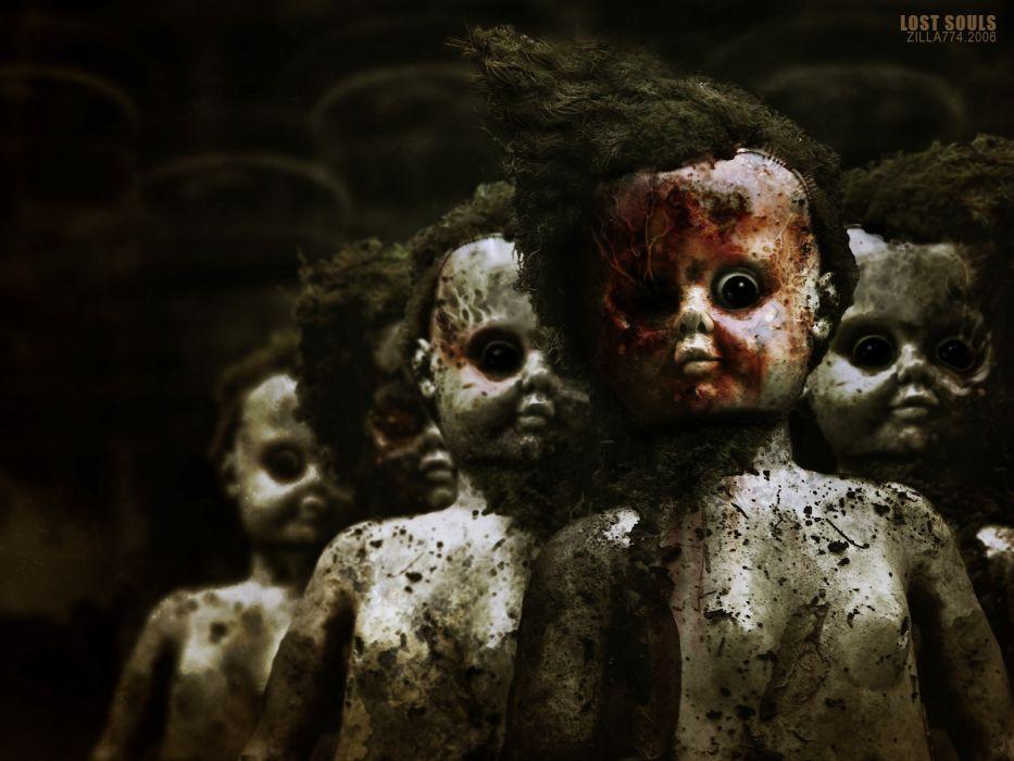 dark horror gothic macabre face blood demon evil wallpaper