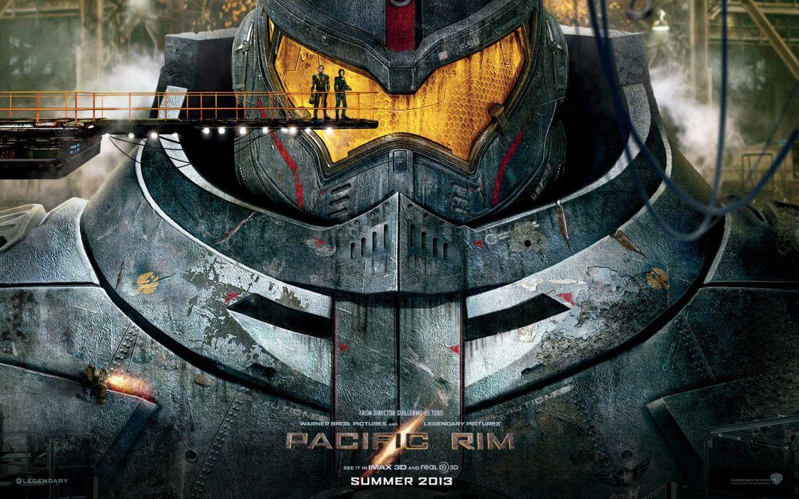 Pacific Rim sci fi robot futuristic wallpaper