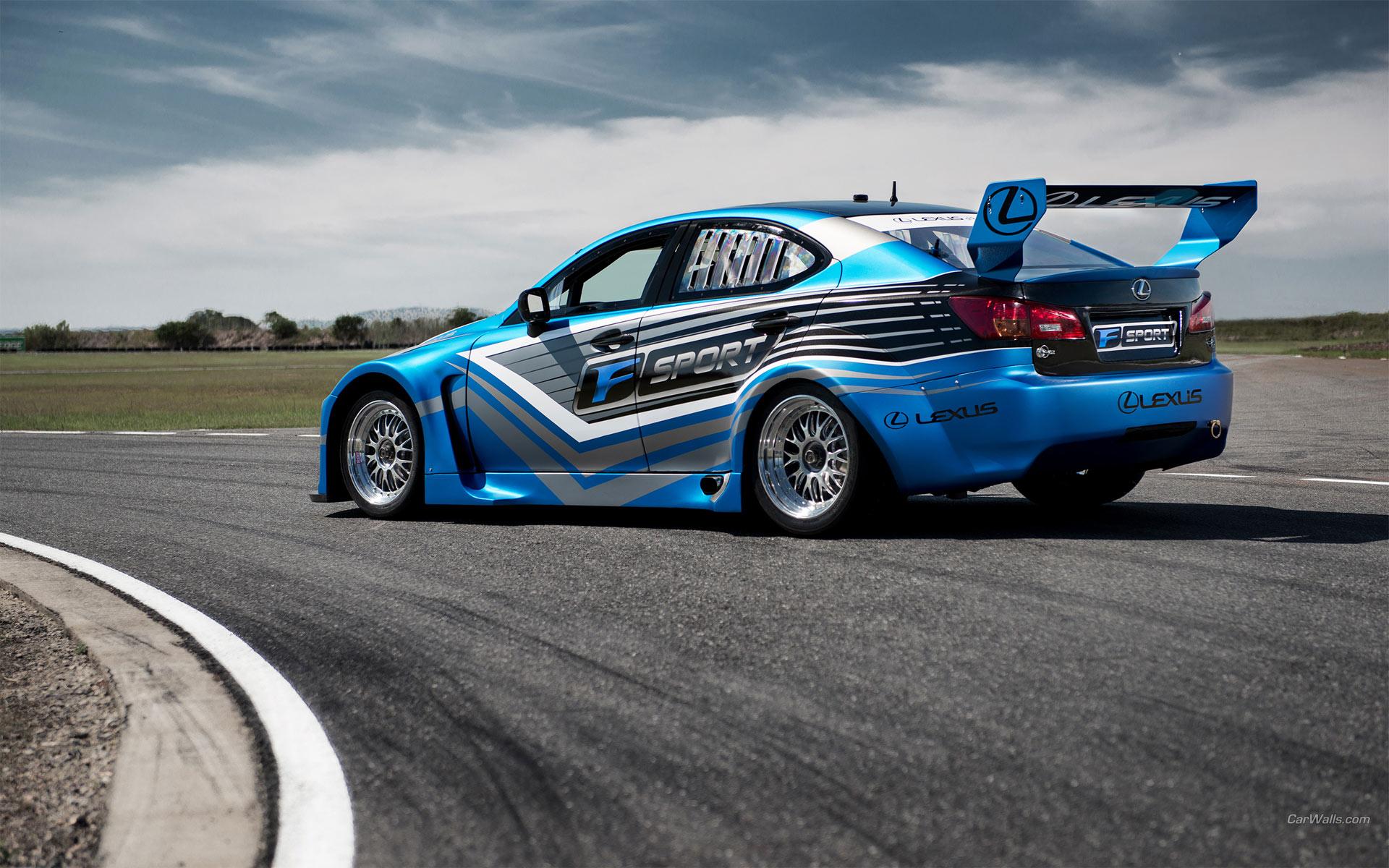 Lexus Is F V8 Superstar International Series Tuning Race Car Racing Track Roads Wallpaper 1920x1200 31373 Wallpaperup