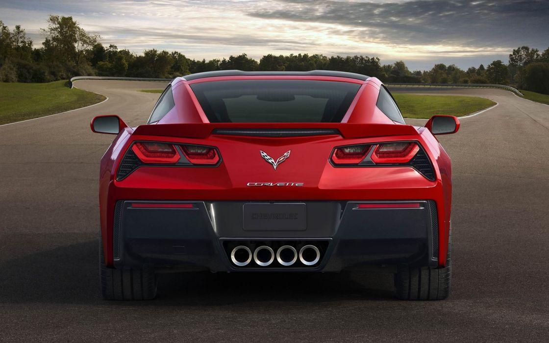 2014 chevrolet corvette c7 stingray supercars wallpaper