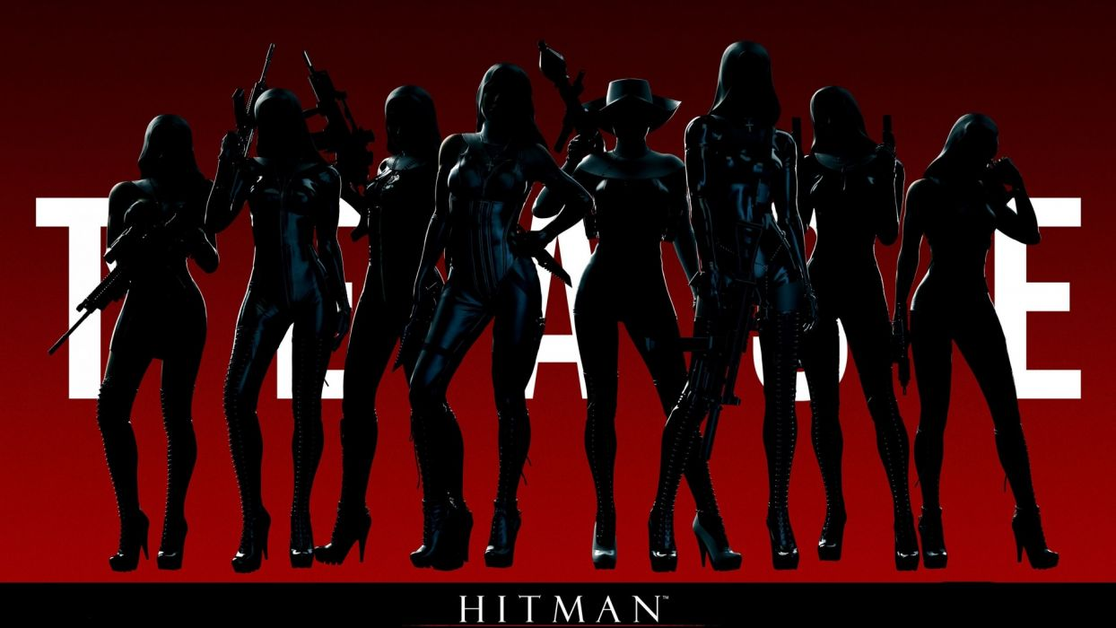 Hitman Absolution Clan Of The Saints Nuns Women Sexy Babes