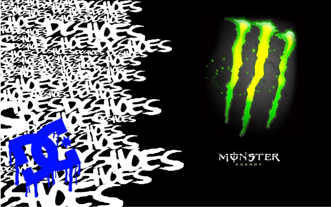 Monster DC shoes wallpaper