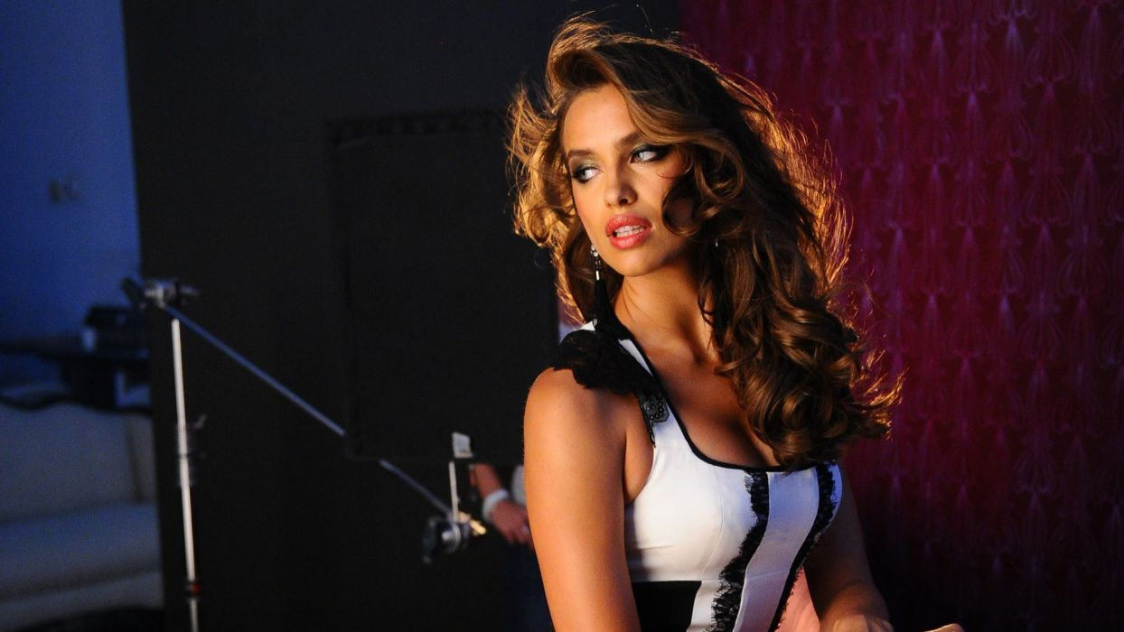 irina shayk sheik women model brunette fashion babes sexy wallpaper