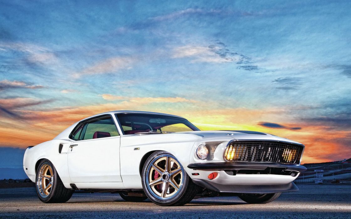 ford mustang muscle cars hot rod tuning wallpaper