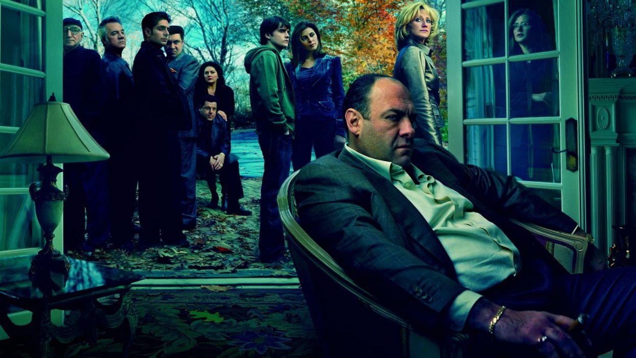 The Sopranos HBO gangsters mafia og people men women italian wallpaper
