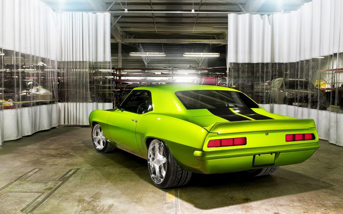 chevrolet camaro custom tuning muscle cars hot rod wallpaper