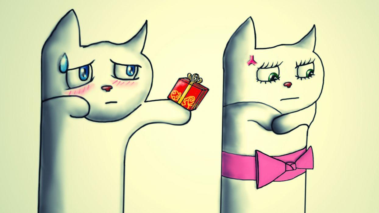 Love Story cartoon humor love romance mood sad sorrow wallpaper