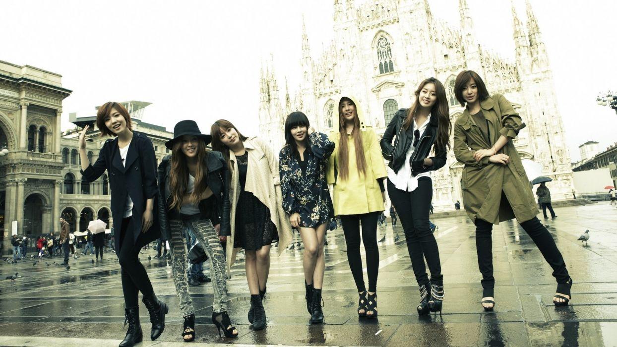 music asians korean korea asia kpop tara oriental bands girls generation wallpaper
