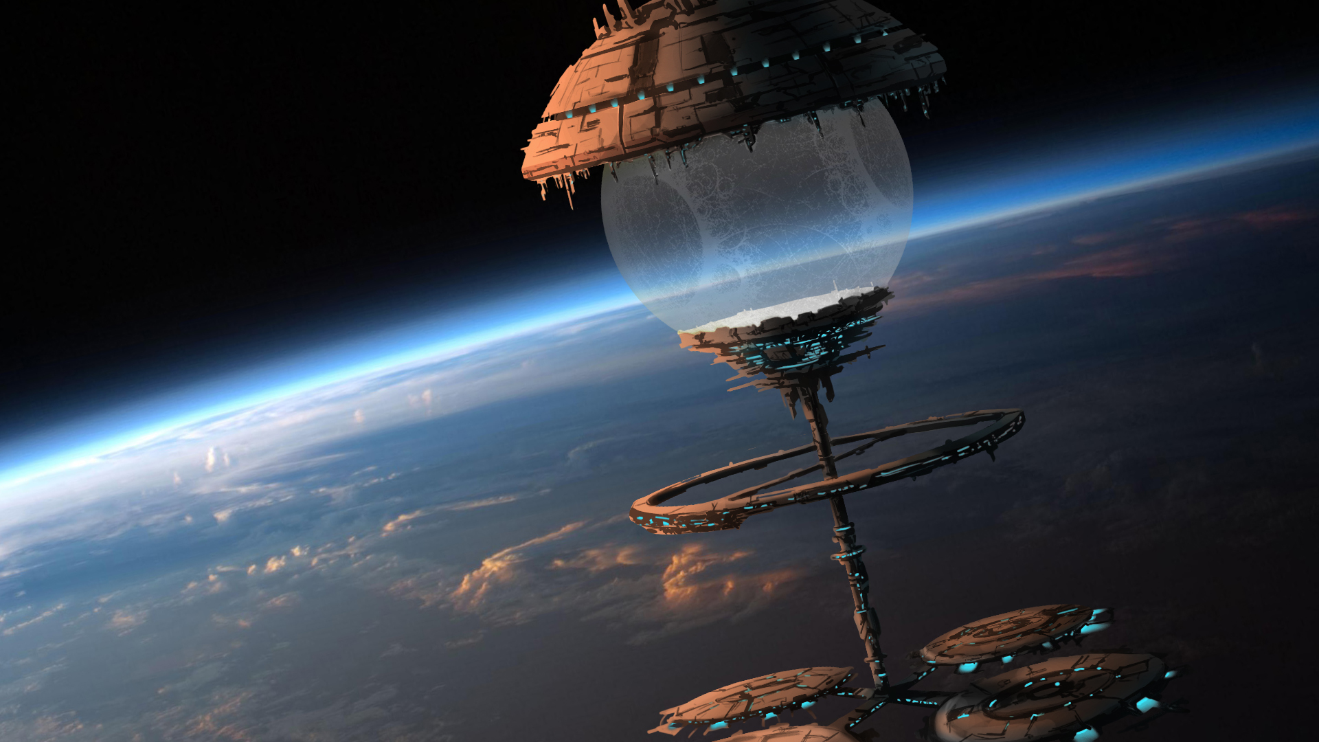 spacecraft circling earth - photo #48