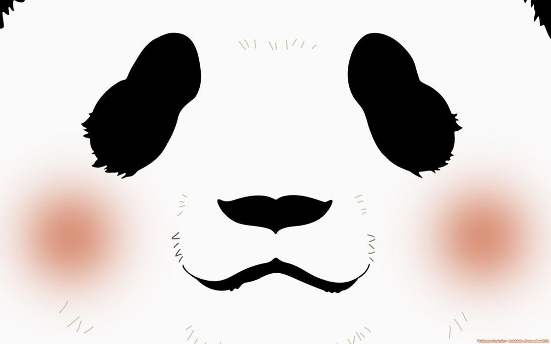 Aloha Higa Mangaka Studio Pierrot Studio Shirokuma Cafe Series Panda (Shirokuma Cafe) Character wallpaper