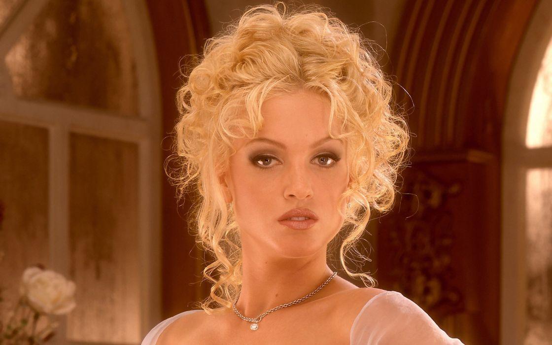 Heather Kozar women model adult blondes sexy babes face wallpaper
