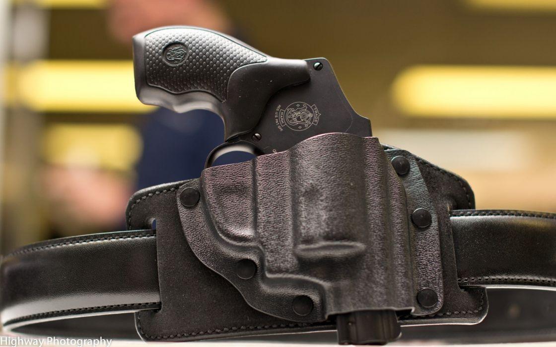 S&W revolver pistol weapons guns police wallpaper