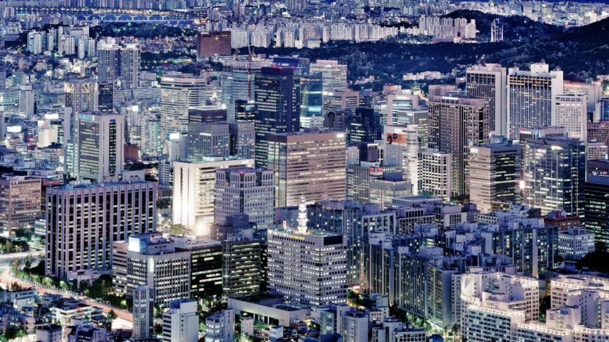 japan tokyo cityscapes skylines buildings skyscrapers asians asia asian architecture seoul city wallpaper