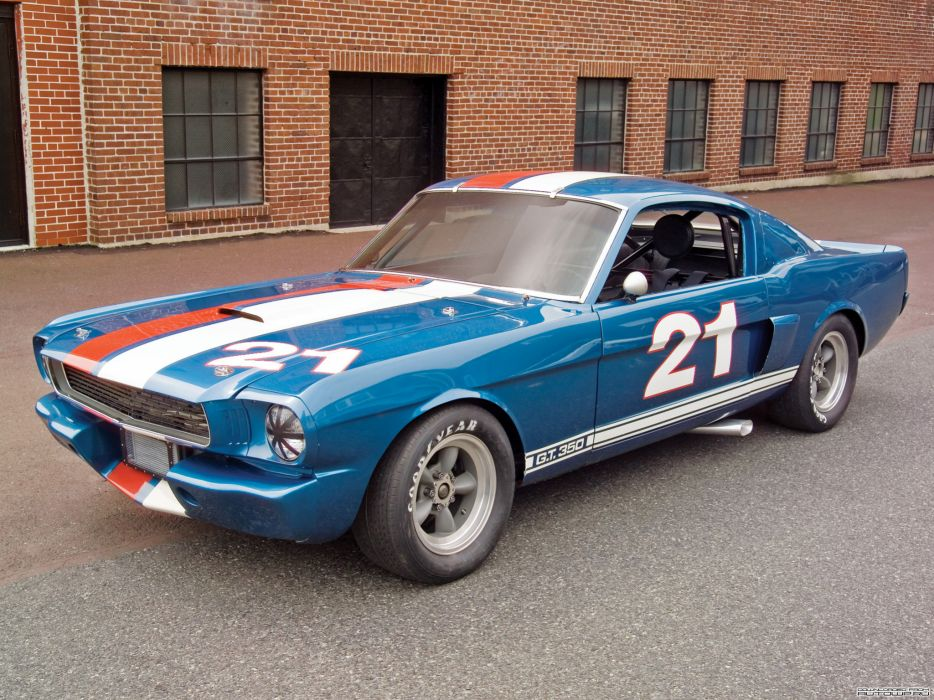 Shelby Super GT350H SCCA B-Production Race Car 1966 muscle cars wallpaper