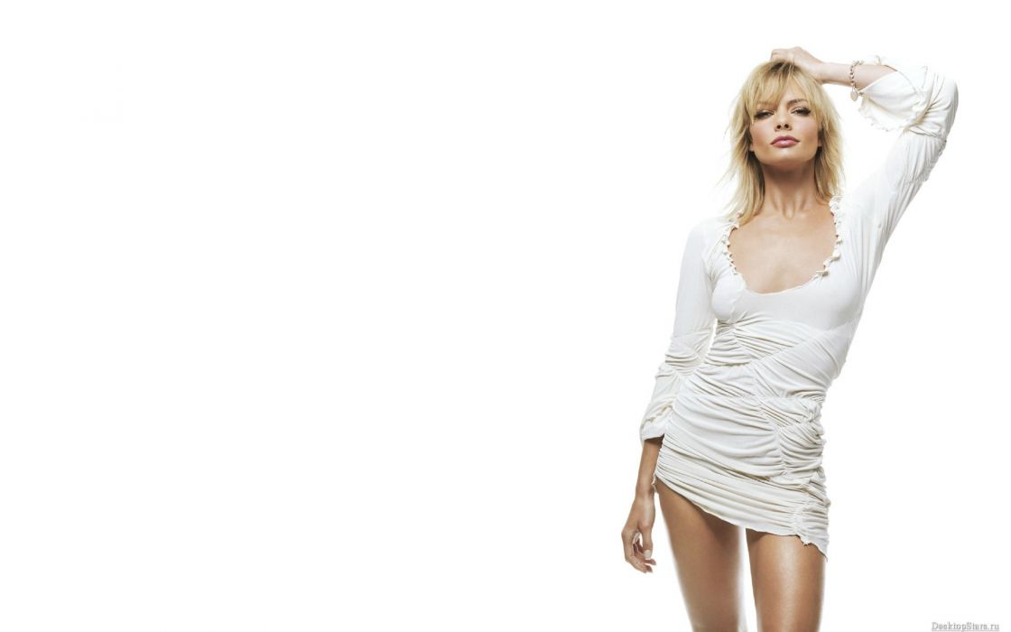 Jaime Pressly actress celeb women model sexy babes blondes boobs wallpaper
