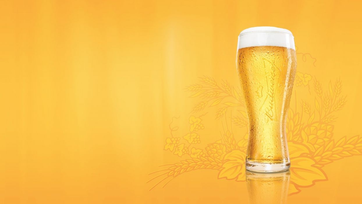 Beer abstract yellow drinks wallpaper