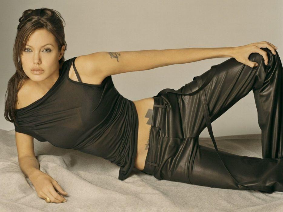 Angelina Jolie models celebrities actress  wallpaper