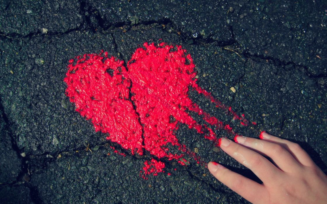 heart red love romance hand mood valentine's day wallpaper