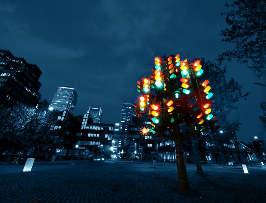 traffic lights lamp color cities architecture wallpaper