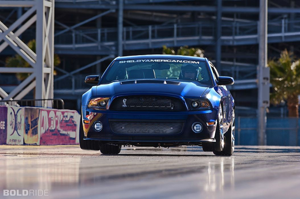 2012 Ford Mustang Shelby 1000 drag racing race car hot rod muscle cars wallpaper