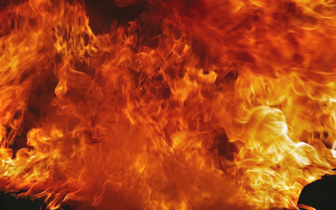 fire flames abstract wallpaper
