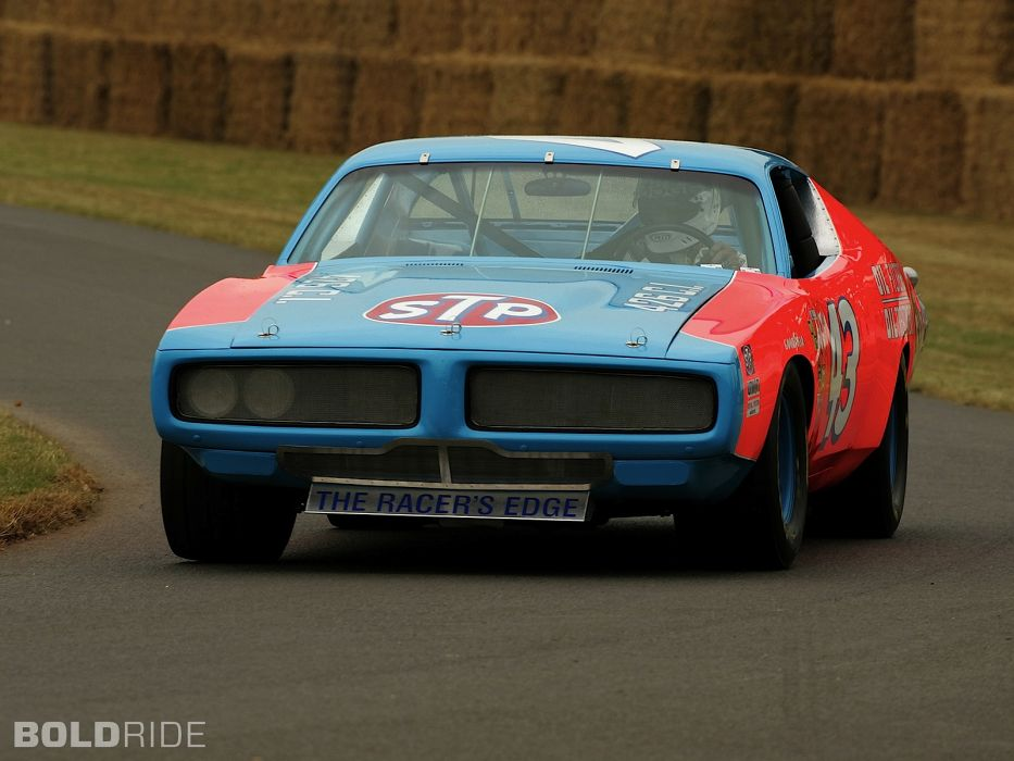 1972 Dodge Charger Nascar Race Car Racing Muscle Cars Track