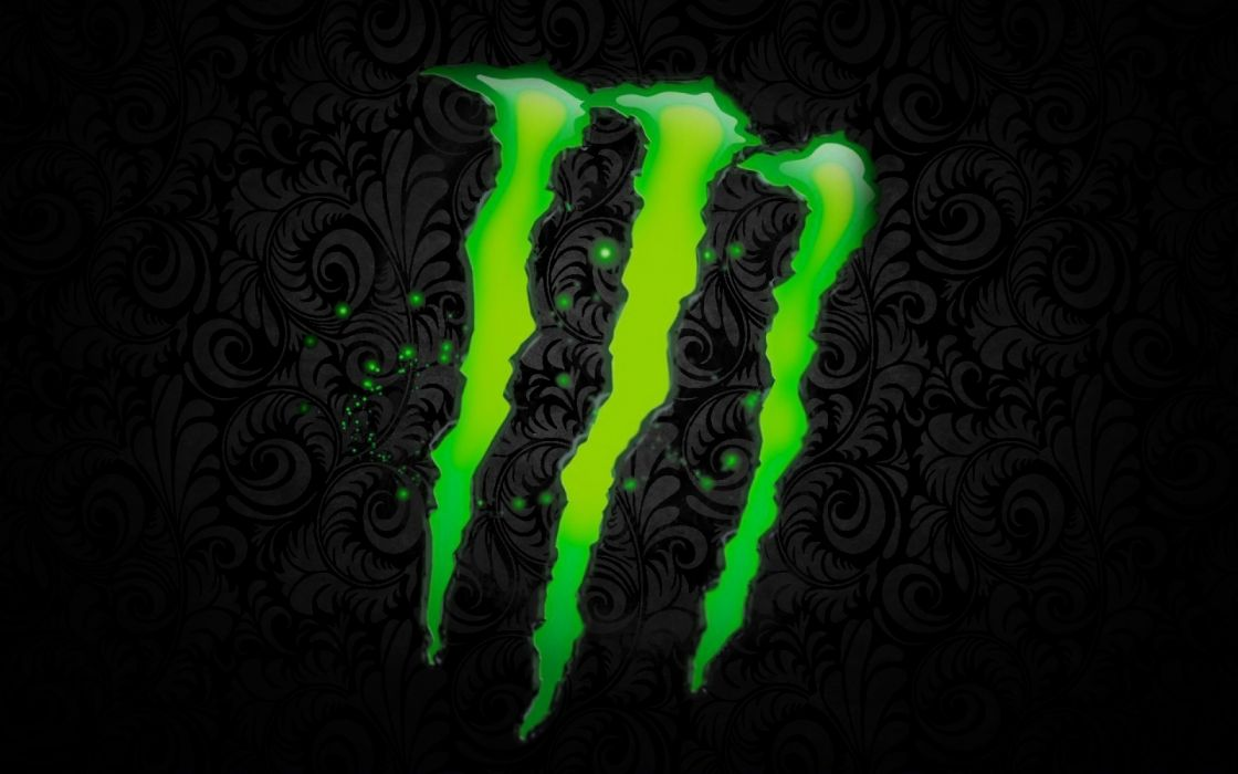 monster energy drinks logo wallpaper