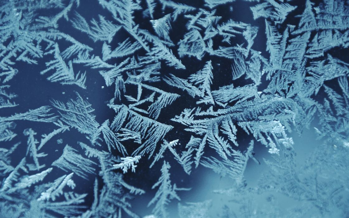 frost winter cold window glass abstract pattern wallpaper
