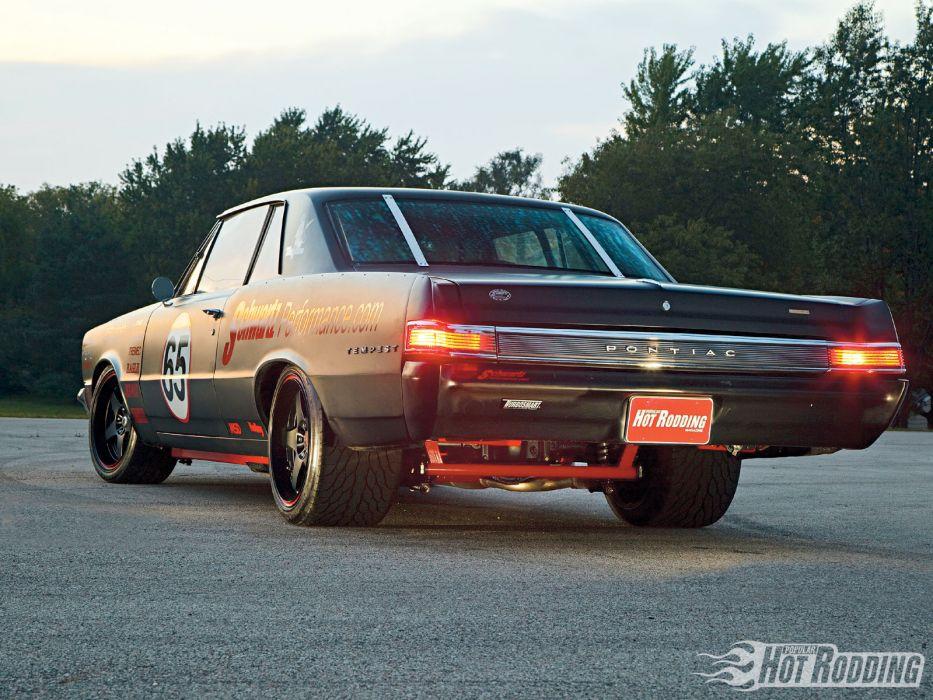 1965 Pontiac Tempest race cars racing roads muscle cars wallpaper