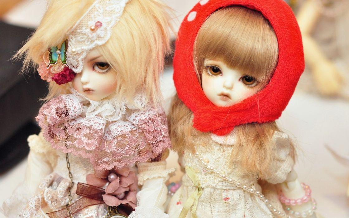 children dolls toy cute realistic face eyes wallpaper