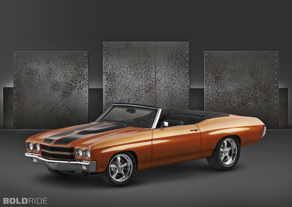 1970 Chevrolet Chevelle hot rod muscle cars wallpaper